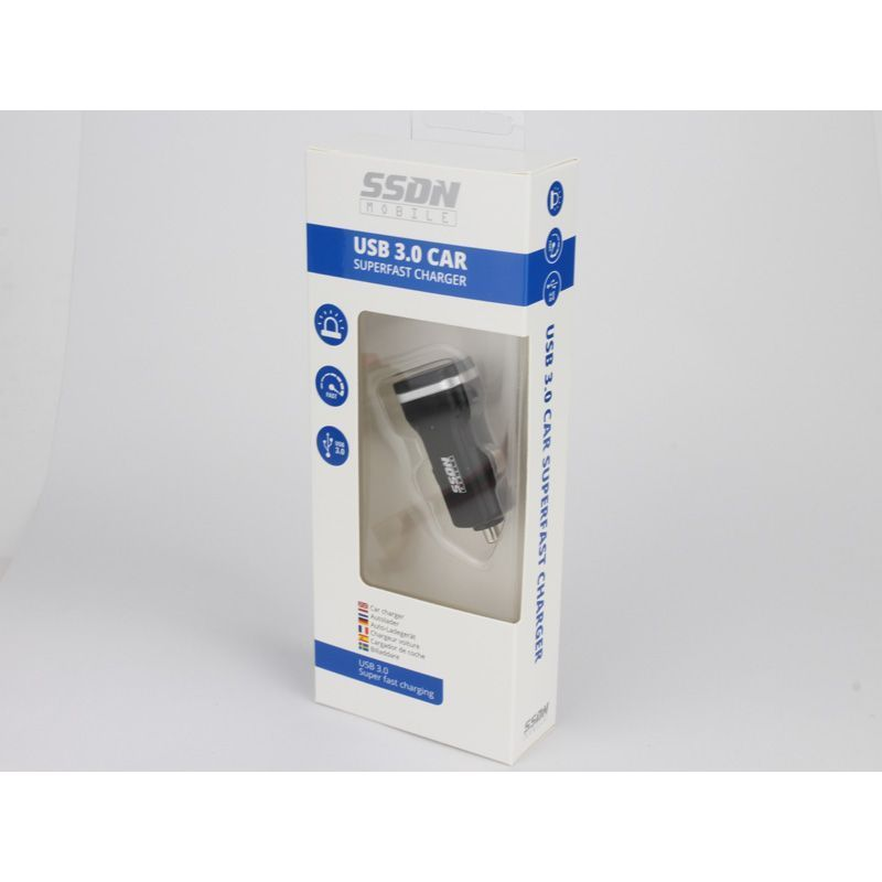 SSDN Mobile USB 3.0 chargeur voiture super rapide